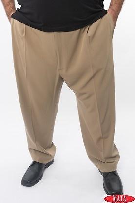 Pantalón hombre beig 07974