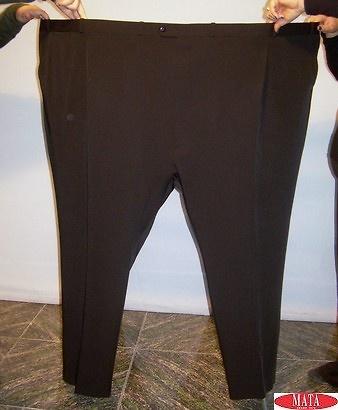 Pantalón NEGRO tallas grandes 09090