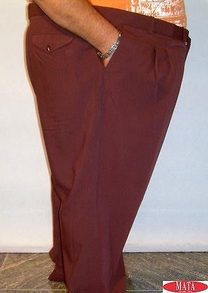 Pantalón morado hombre tallas grandes 12328
