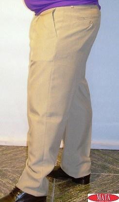 Pantalón hombre beig tostado 13854