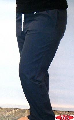 Pantalón azul marino 14773