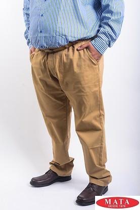 Pantalón ocre 15259
