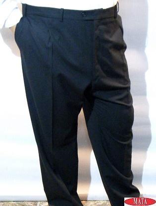 Pantalón hombre negro 16610