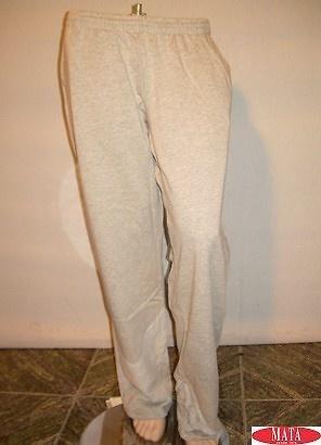 Pantalón hombre tallas grandes gris 08975