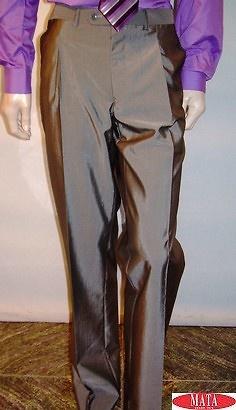 Pantalón hombre gris tallas grandes 10462