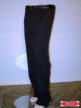 Pantalón hombre azul marino 00216