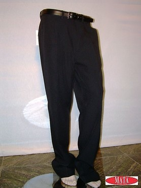 Pantalón hombre negro 00216
