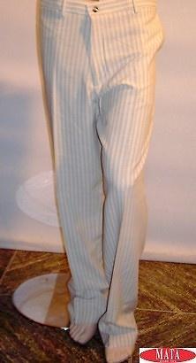 Pantalón hombre beig tallas grandes 04978