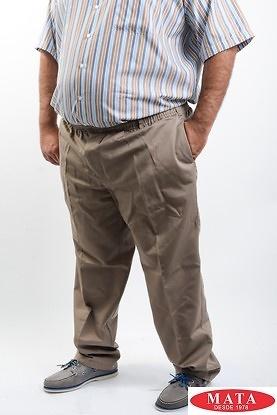 Pantalon hombres tallas grandes beig 192018