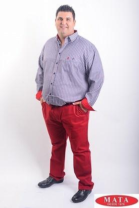 Pantalón hombre tallas grandes 19125
