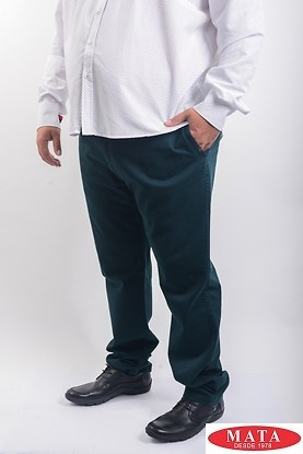 Pantalón verde 19156