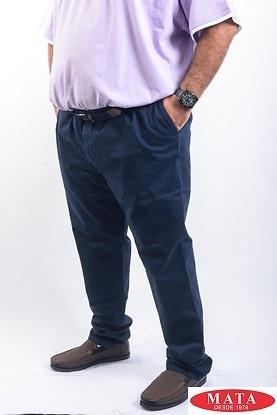 Pantalon hombres tallas grandes marino 19638