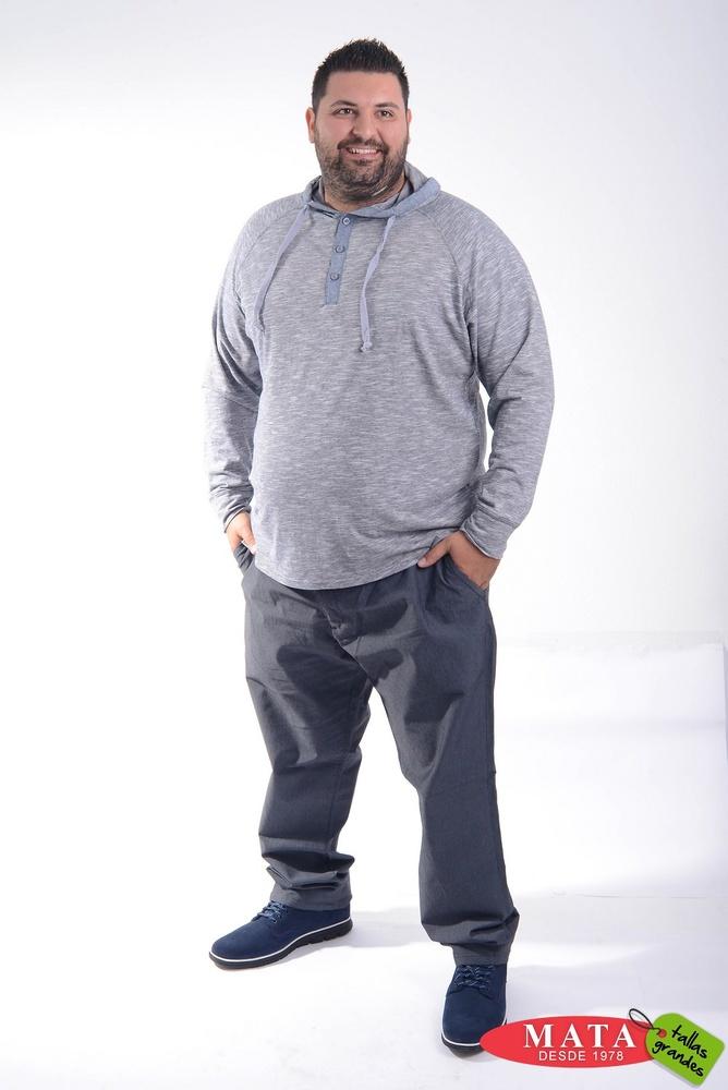 Pantalón hombre tallas grandes 20612
