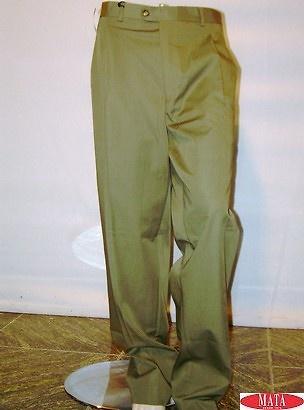 Pantalón tallas grandes hombre verde 08959