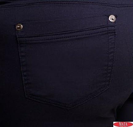 Pantalón hombre negro 08771
