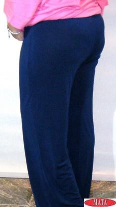 Pantalón mujer azul marino 14706