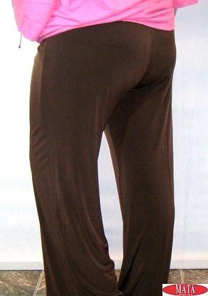 Pantalón mujer marrón 14706