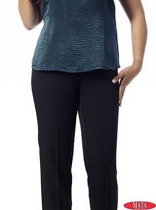 Pantalón mujer negro 14774