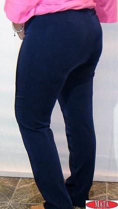 Pantalón mujer azul marino 14774