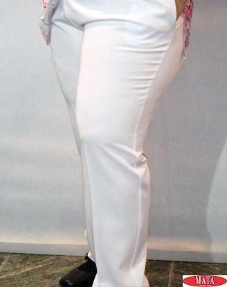 Pantalón mujer blanco 17033
