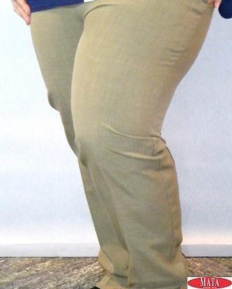 Pantalón mujer verde 17033