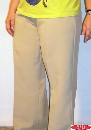 Pantalón mujer diversos colores tallas grandes 02408