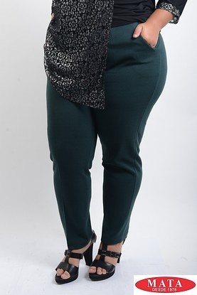 Pantalon mujer tallas grandes kaky 07986