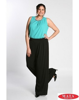 Pantalón mujer tallas grandes 18661
