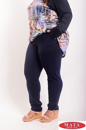 Pantalón mujer tallas grandes 19139