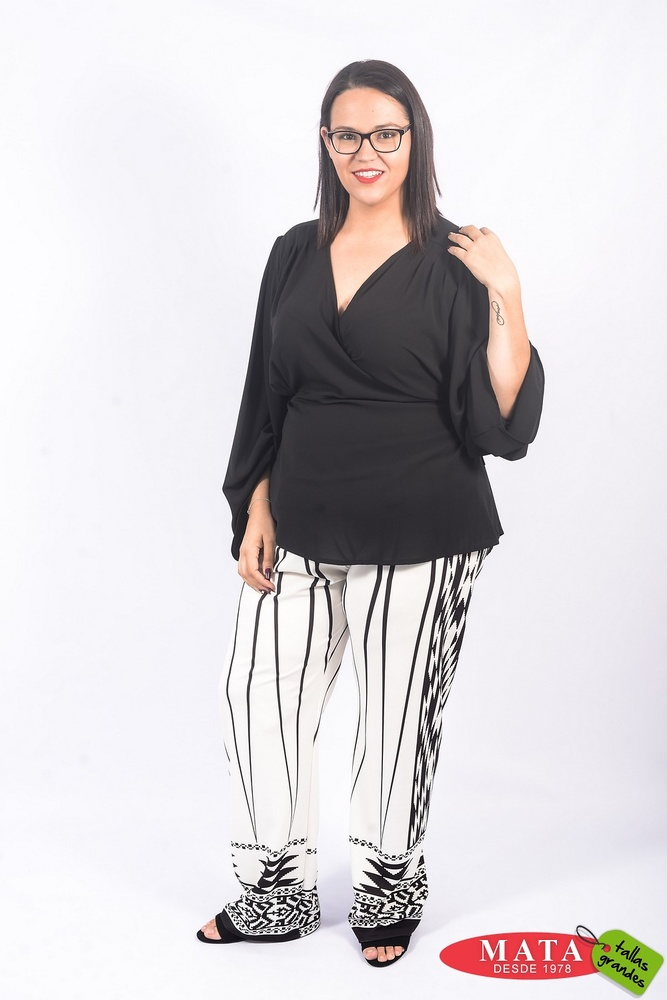 Pantalón mujer tallas grandes 22847