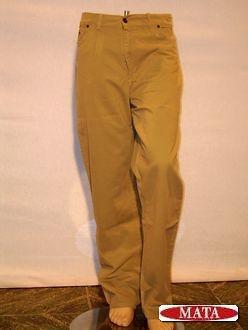 Pantalón vaquero beig 00081