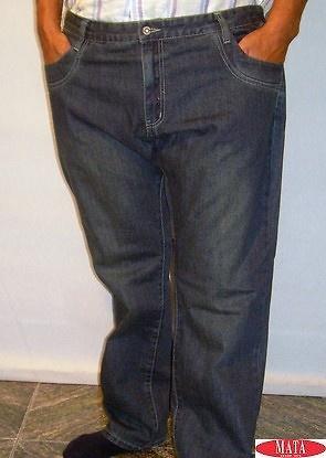 Pantalón vaquero hombre tallas grandes 11260