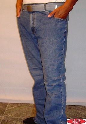 Pantalón vaquero hombre tallas grandes 13455