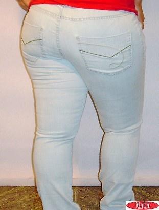 Pantalón vaquero mujer tallas grandes 11071
