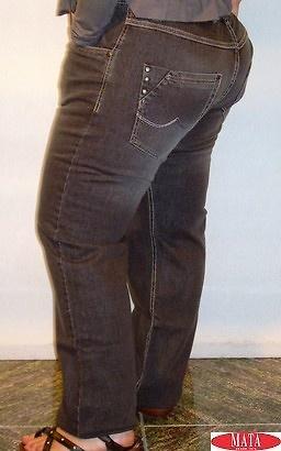 Pantalón vaquero gris tallas grandes 11317