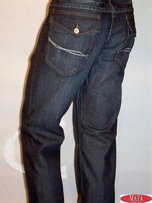 Pantalón vaquero tallas grandes hombre 09736