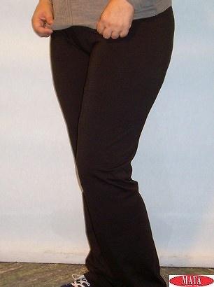 Panty NEGRO mujer tallas grandes 11192