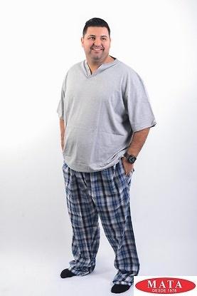 Pijama hombre gris 16412