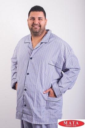 Pijama hombres tallas grandes rayas 14484