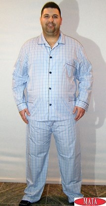 Pijama hombre tallas grandes 15217