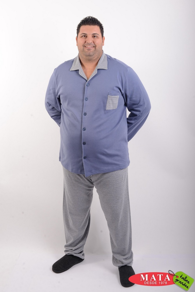 Pijama hombre tallas grandes 20522