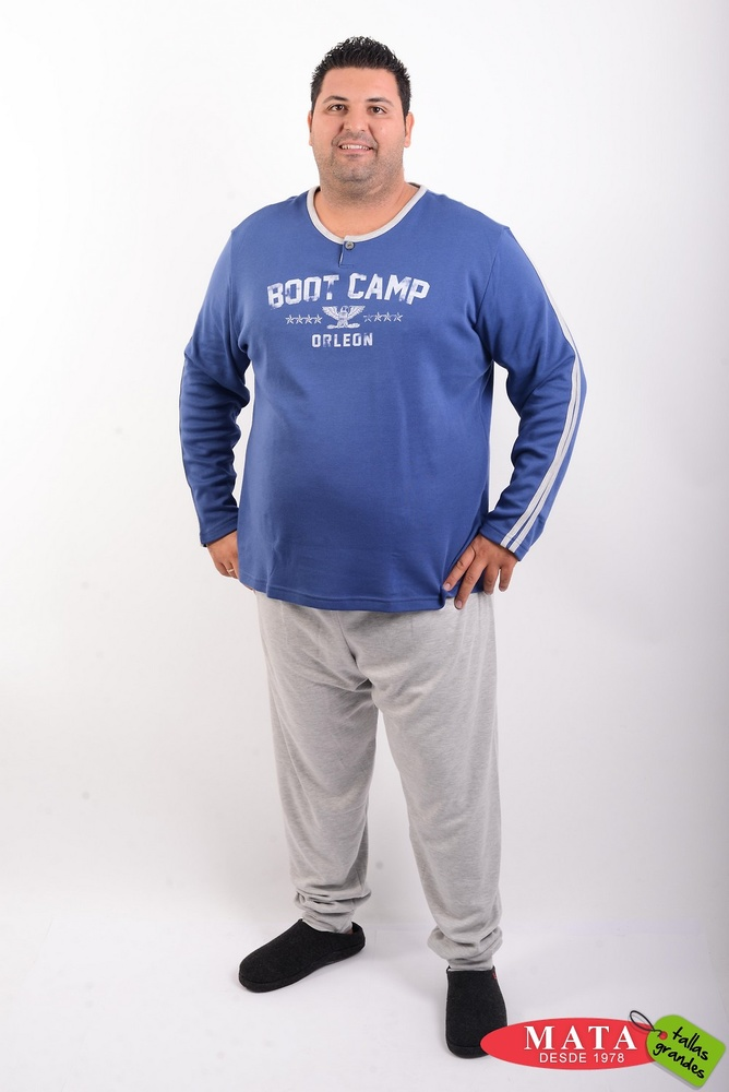 Pijama hombre tallas grandes 20523