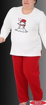 Pijama mujer tallas grandes 16120