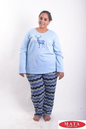 Pijama mujer tallas grandes 19075 ropa mujer tallas grandes ropa interior lenceria pijamas - Ropa interior tallas especiales ...