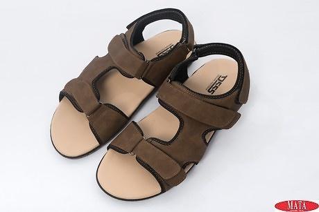 Sandalia marrón 19947
