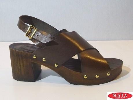 Sandalia marrón 18754