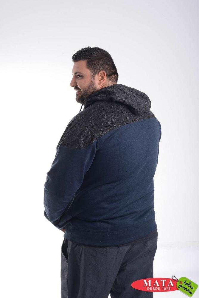 Sudadera hombre tallas grandes 20590