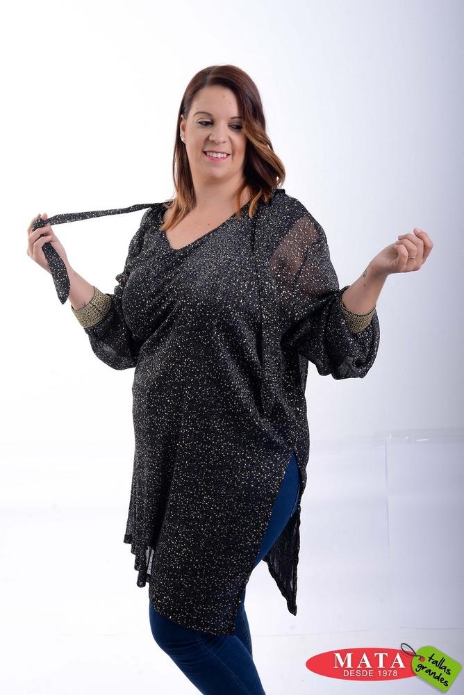 T nica mujer tallas grandes 20820 ropa mujer tallas grandes blusas blusas casuales ropa - Ropa interior tallas especiales ...