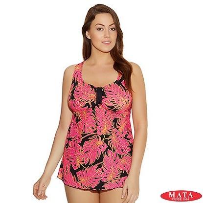 Tankini mujer tallas grandes 18251 ropa mujer tallas grandes ropa de ba o ver bikinis - Ropa interior tallas especiales ...
