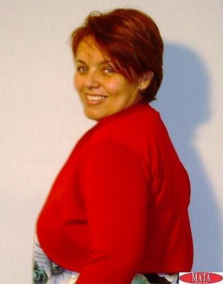 Torera mujer rojo tallas grandes 13504